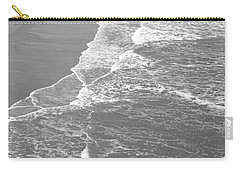 Galveston Tide In Grayscale Carry-all Pouch