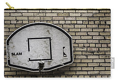 Carry-all Pouch featuring the photograph Game Over - Urban Messages by Steven Milner