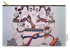 1 Ganesh Carry-all Pouch