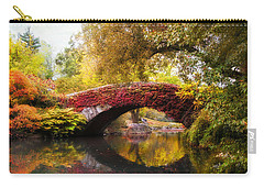Carry-all Pouch featuring the photograph Gapstow Bridge  by Jessica Jenney