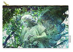Garden Angel - Divine Messenger Carry-all Pouch by Absinthe Art By Michelle LeAnn Scott