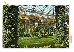 Garden Atrium In Shadow Carry-all Pouch by Jean Goodwin Brooks