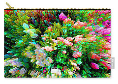 Garden Explosion Carry-all Pouch by Alys Caviness-Gober