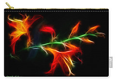 Garden Firecracker Carry-all Pouch