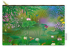Garden - Limited Edition 1 Of 20 Carry-all Pouch