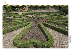 Carry-all Pouch featuring the photograph Garden Of Peace by Tracey Williams