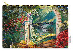 Garden Of Serenity Beyond Carry-all Pouch