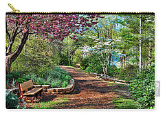 Garden Of Serenity Carry-all Pouch by Kenny Francis