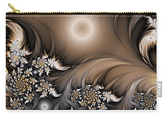 Carry-all Pouch featuring the digital art Garden Of The Future by Gabiw Art
