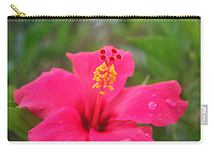 Carry-all Pouch featuring the photograph Garden Rains by Miguel Winterpacht