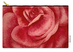 Garden Rose Carry-all Pouch