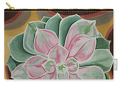 Garden Rossette Carry-all Pouch