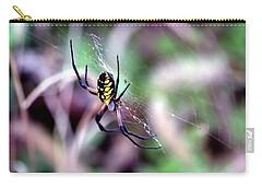 Garden Spider Carry-all Pouch by Deena Stoddard