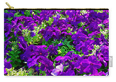 Carry-all Pouch featuring the photograph Garden Stream by Glenn McCarthy Art and Photography