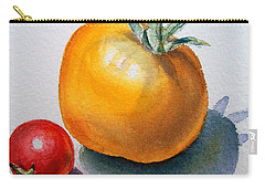 Garden Tomatoes Carry-all Pouch by Irina Sztukowski