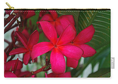 Carry-all Pouch featuring the photograph Garden Treasures by Miguel Winterpacht