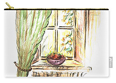 Garden View Carry-all Pouch by Teresa White