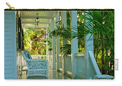 Gardens Porch In Key West Carry-all Pouch