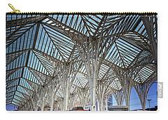 Gare Do Oriente Lisbon Carry-all Pouch by Carol Japp