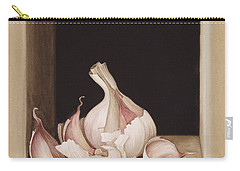 Garlic Carry-all Pouch by Jenny Barron