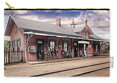 Garrison Train Station Colorized Carry-all Pouch