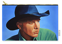 Garth Brooks Carry-all Pouch by Paul Meijering