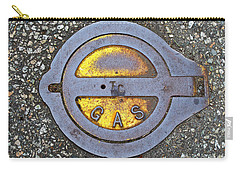 Gas Cap Carry-all Pouch by Ethna Gillespie