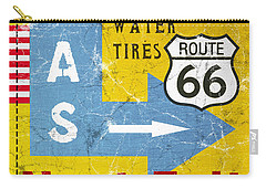 Gas Next Exit- Route 66 Carry-all Pouch