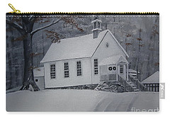Gates Chapel - Ellijay - Signed By Artist Carry-all Pouch