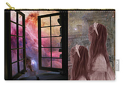 Gates Of Heaven-regarder La Fin Du Monde Carry-all Pouch