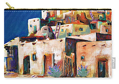 Gateway Into  The  Pueblo Carry-all Pouch by Frances Marino