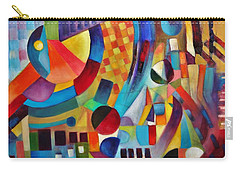 Carry-all Pouch featuring the painting Gateway by Jason Williamson
