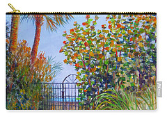 Gateway To Paradise Carry-all Pouch by Lou Ann Bagnall
