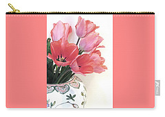 Gathered Tulips Carry-all Pouch