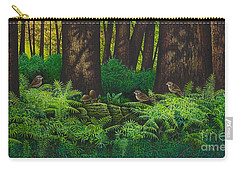 Gathering Among The Ferns Carry-all Pouch