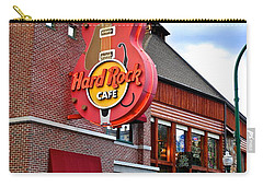 Gatlinburg Hard Rock Cafe Carry-all Pouch by Frozen in Time Fine Art Photography