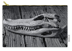 Gator Black And White Carry-all Pouch