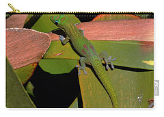 Gecko Carry-all Pouch by Pamela Walton