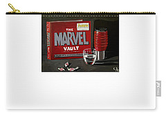Geek Obsession - Still Life Acrylic Painting - Marvel Comics - Ai P. Nilson Carry-all Pouch