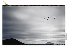 Geese Flying South For Winter Carry-all Pouch