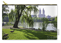 Geese In Central Park Nyc Carry-all Pouch
