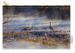 Geese Taking A Break Carry-all Pouch