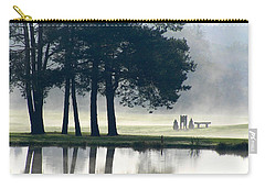 Genegantslet Golf Club Carry-all Pouch by Christina Rollo