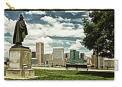 General Smith Overlooks Baltimore Harbor Carry-all Pouch