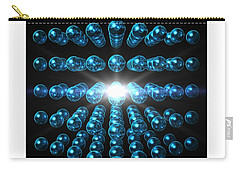 Carry-all Pouch featuring the digital art Genesis... by Tim Fillingim