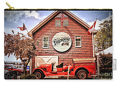 Geneva On The Lake Firehouse Carry-all Pouch by The Art of Alice Terrill