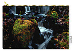 Carry-all Pouch featuring the photograph Gentle Descent by Jeremy Rhoades