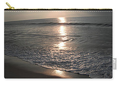 Ocean - Gentle Morning Waves Carry-all Pouch by Susan Carella