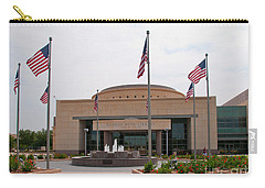 George Bush Presidential Library Carry-all Pouch by Mae Wertz