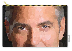George Clooney Portrait Carry-all Pouch